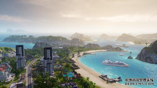 在Tropico 6的公测中采样太阳 沙子和策略